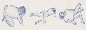 afbeelding uitgangshoudingen-kruip-buik-en-rug